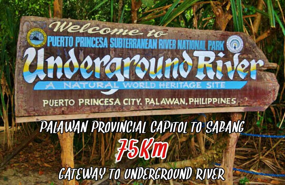 Palawan Provincial Capitol TO Sabang 75Km 2018