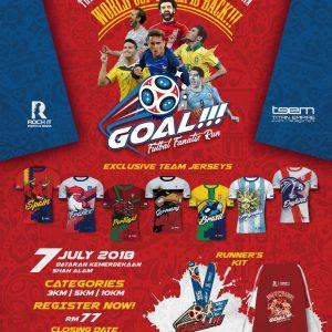 Futbal Fanatix Run 2018