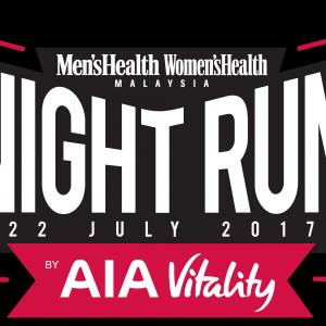 Men's Health Women's Health Night Run by AIA Vitality 2017