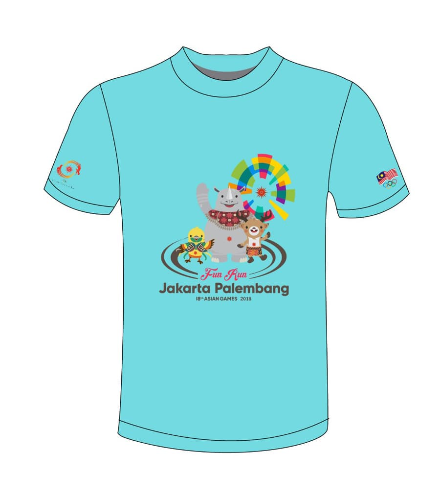 T Shirt Design min - Asian Games 2018 Run