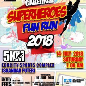 KPJ Puteri Carnival Superheroes Fun Run 2018