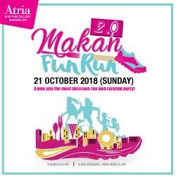 Atria Makan Fun Run 2.0 2018