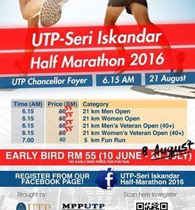 UTP-Seri Iskandar Half Marathon 2016