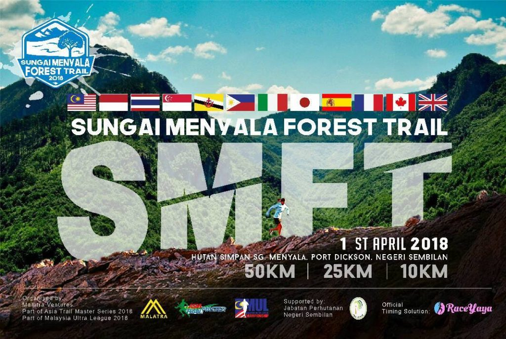 Sungai Menyala Forest Trail 2018