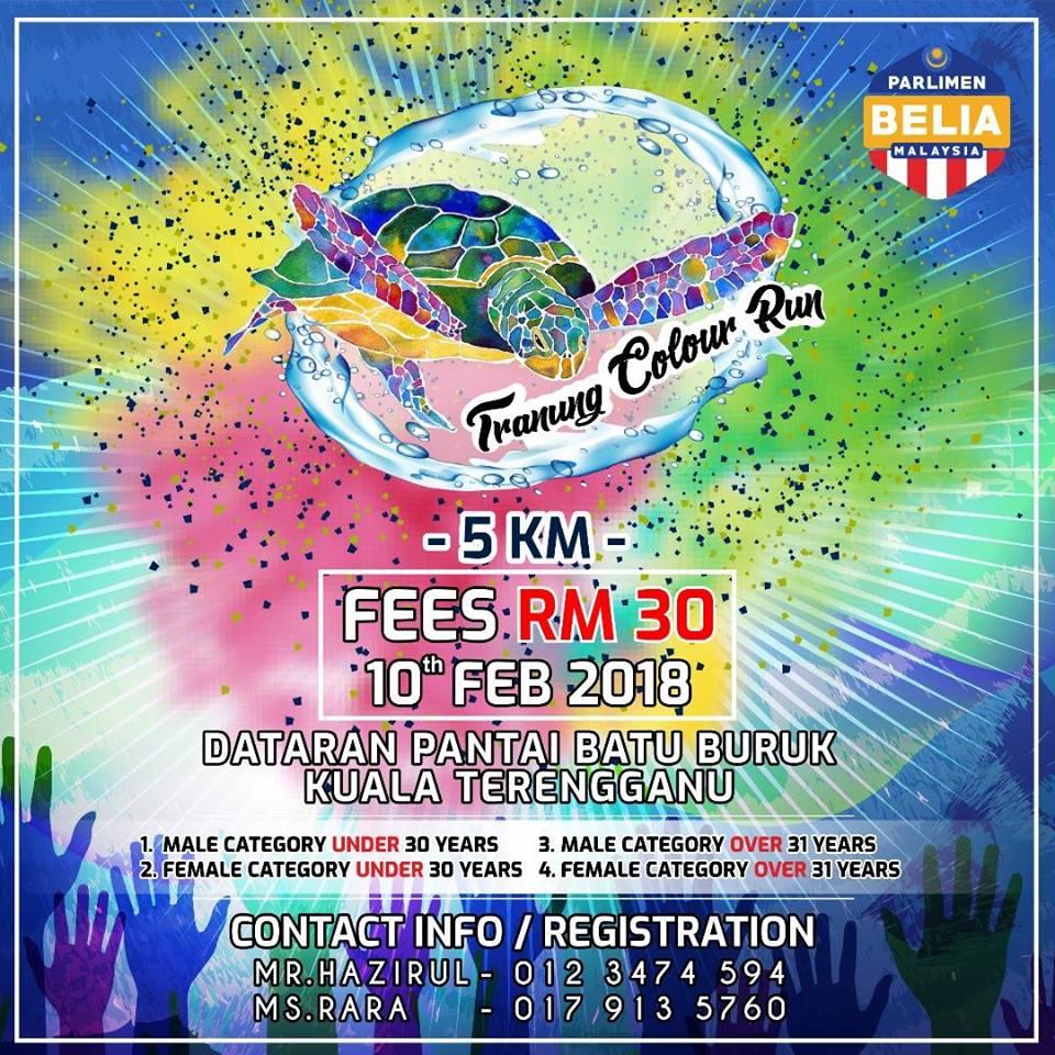 Tranung Colour Run 2018