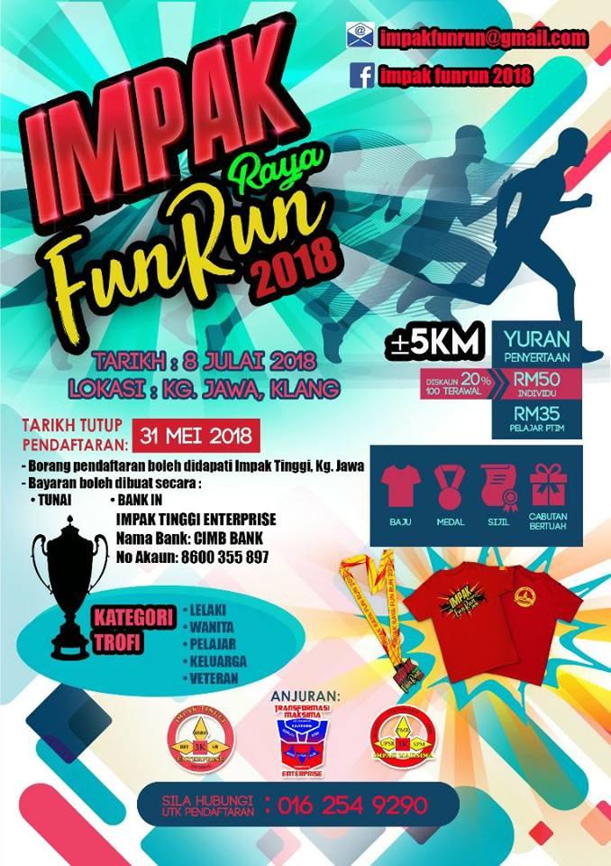 Impak Raya Fun Run 2018