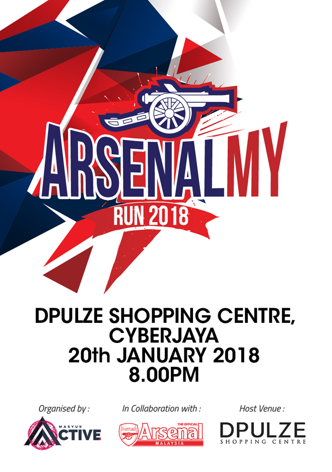 Arsenal MY Run 2018