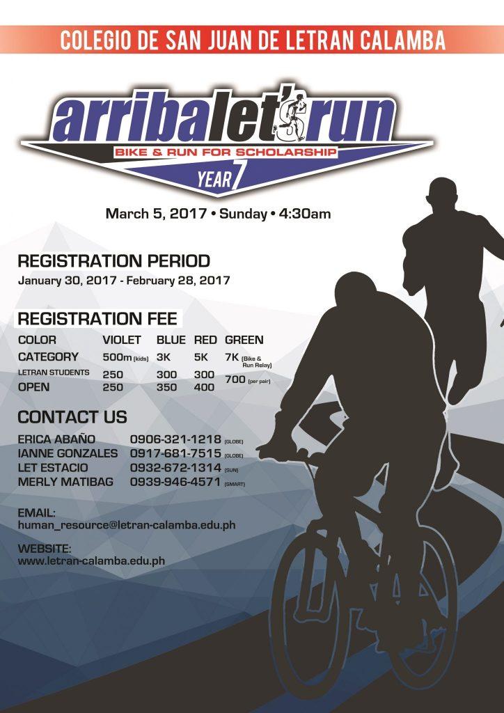 ARRIBA Let's Run: Bike and Run for Scholarship 2017