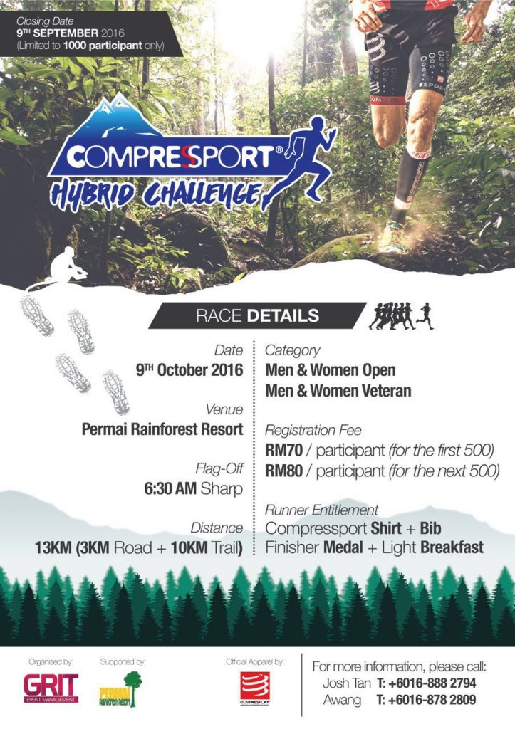 Compressport Hybrid Challenge 2016