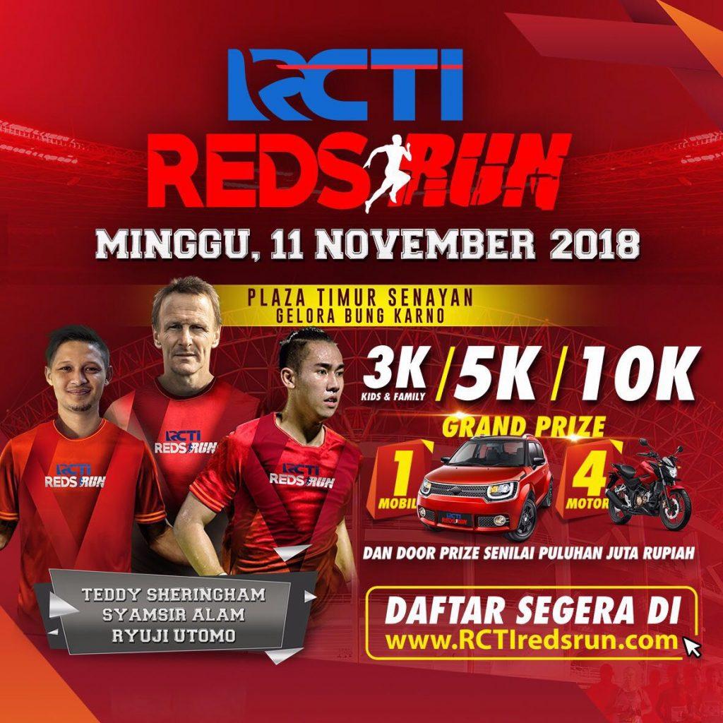 RCTI Reds Run 2018