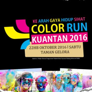 Color Run Kuantan 2016