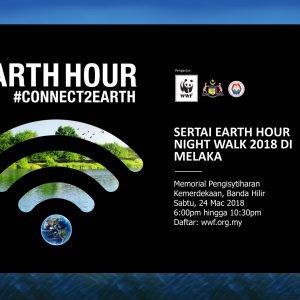 Earth Hour Melaka Night Walk 2018