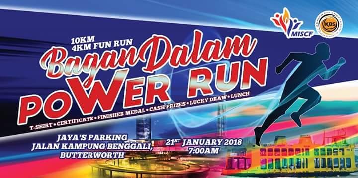 Bagan Dalam Power Run 2018