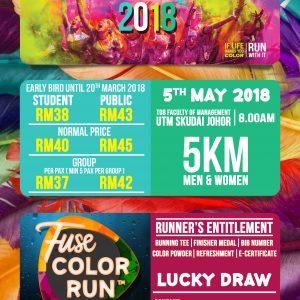 Fuse Color Run 2018