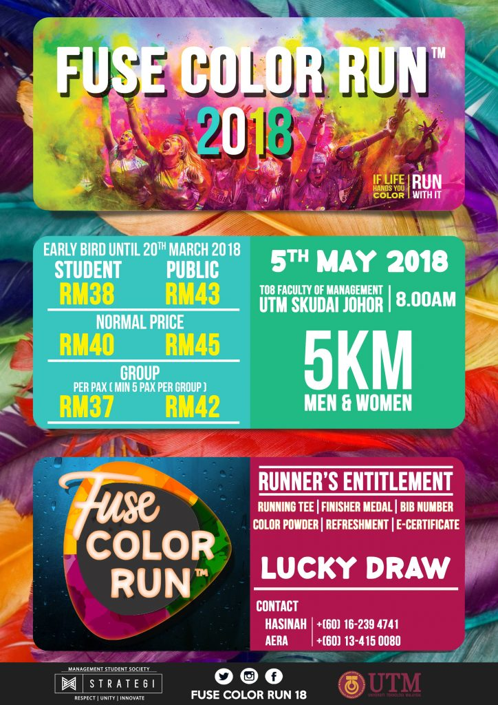 Fuse Color Run 2018