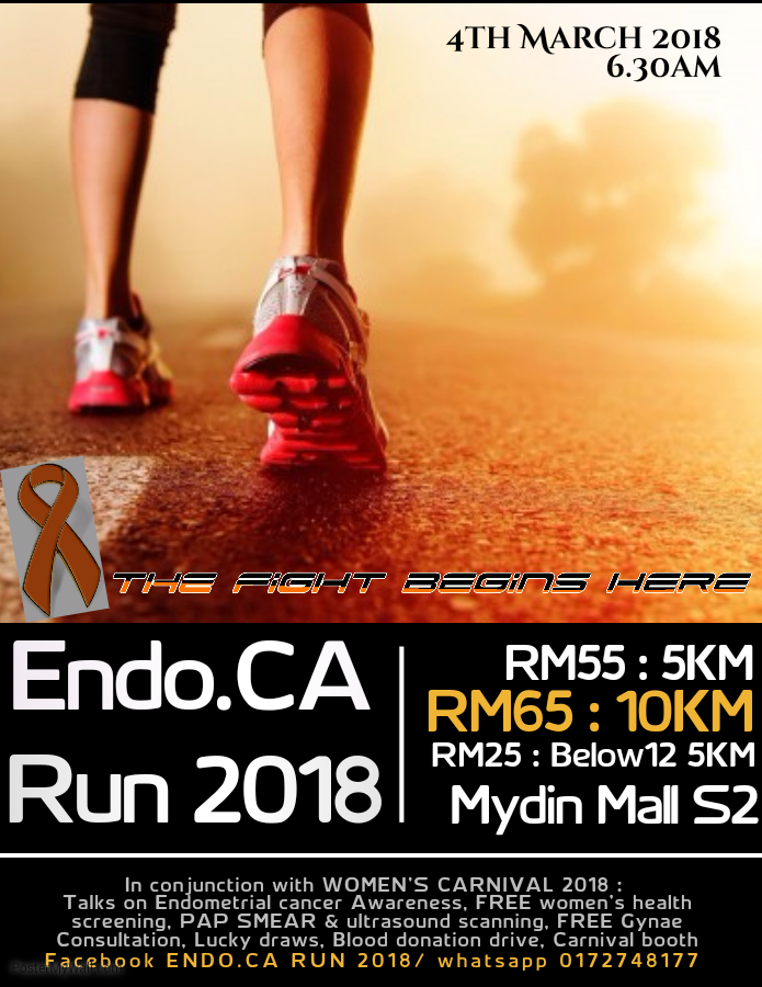 Endometrial Cancer Awareness Run 2018