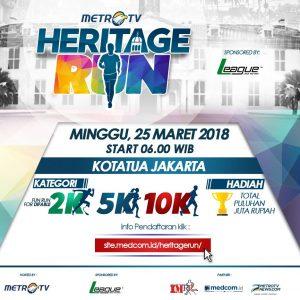 Metro TV Heritage Run 2018