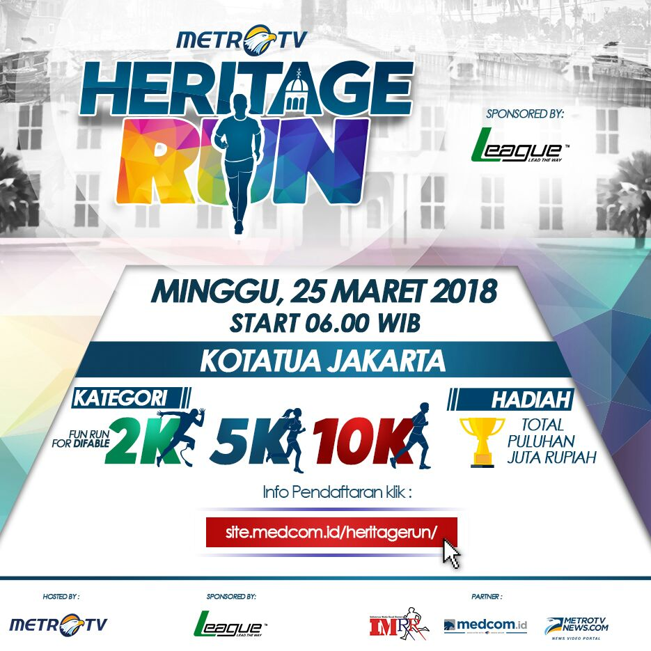 Metro TV Heritage Run 2018