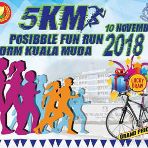 PDRM Kuala Muda Possible Run 2018