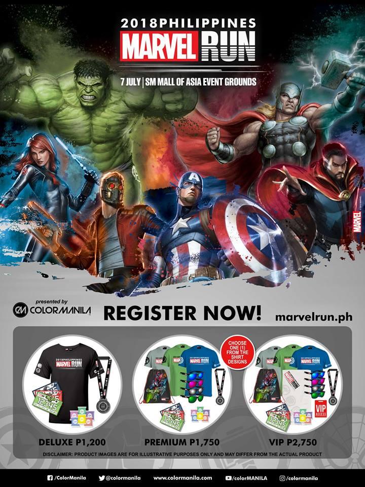 Marvel Run Philippines 2018
