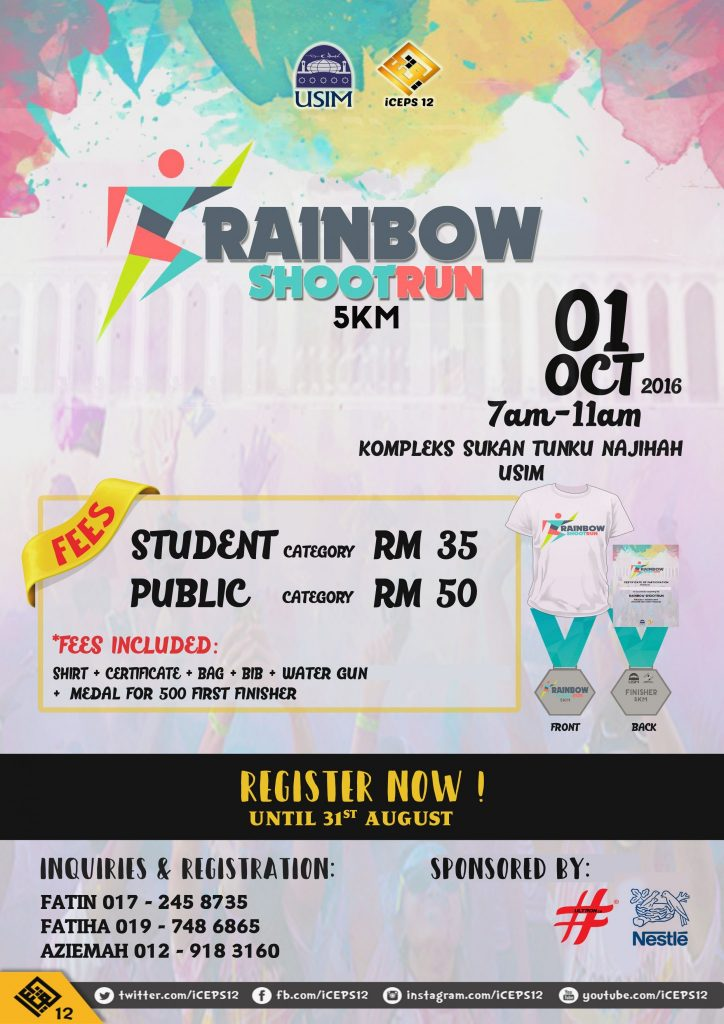 Rainbow Shootrun 2016