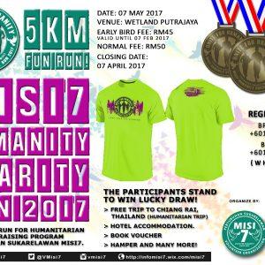 MISI7 Humanity Charity Run 2017