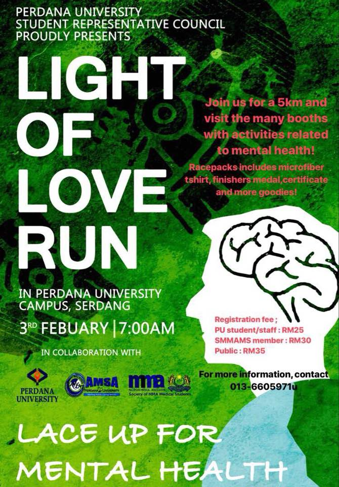 Light Of Love Run 2018
