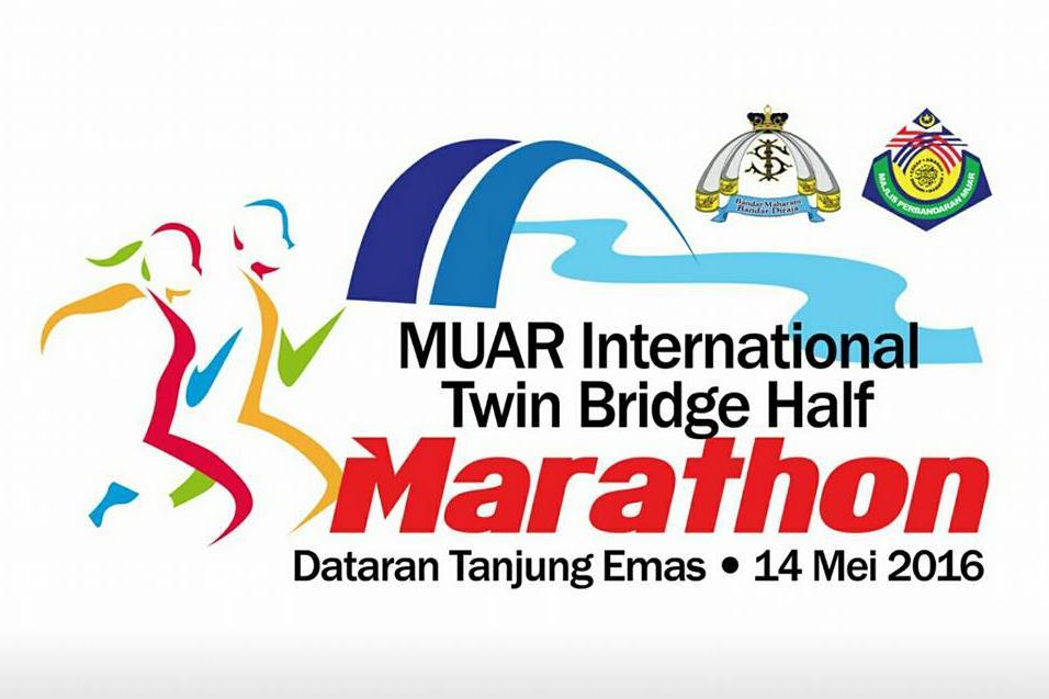 Muar International Twin Bridge Half Marathon 2016