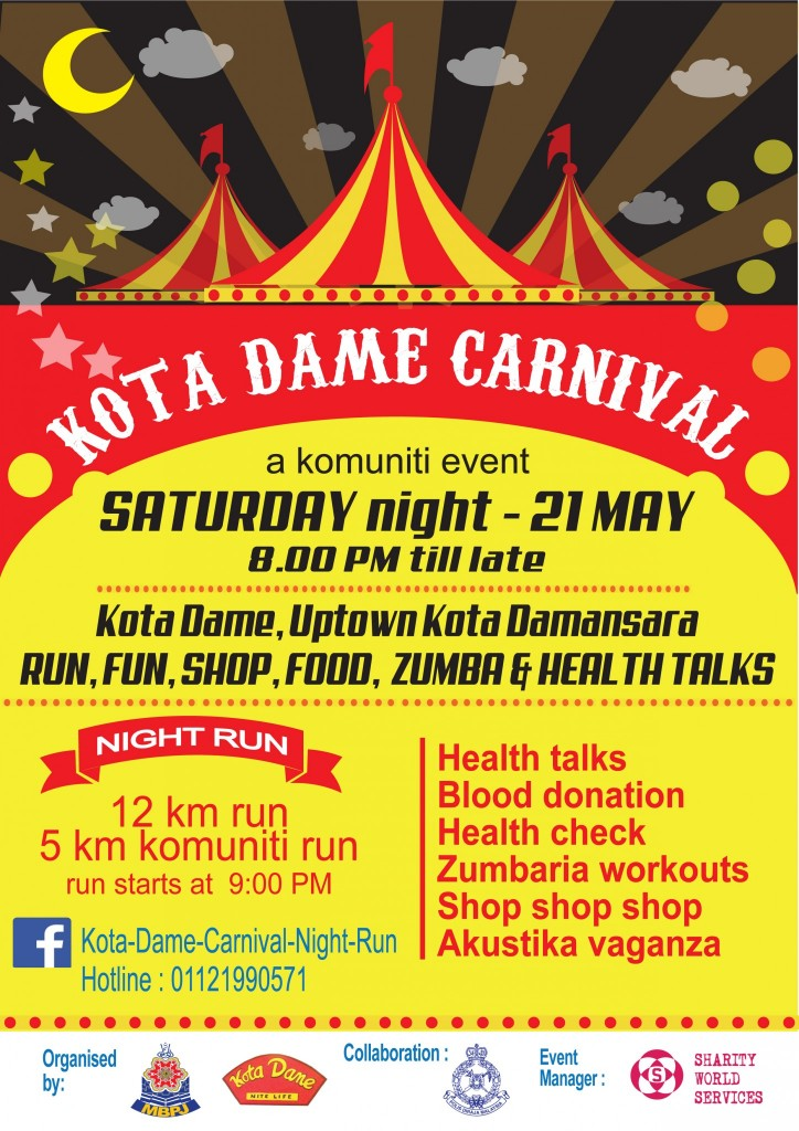 Kota Dame Saturday Night Run 2016