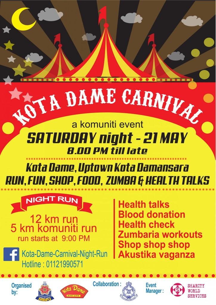 Kota Dame Saturday Night Run 2016