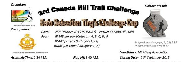 3rd Canada Hill Trail Challenge 2015