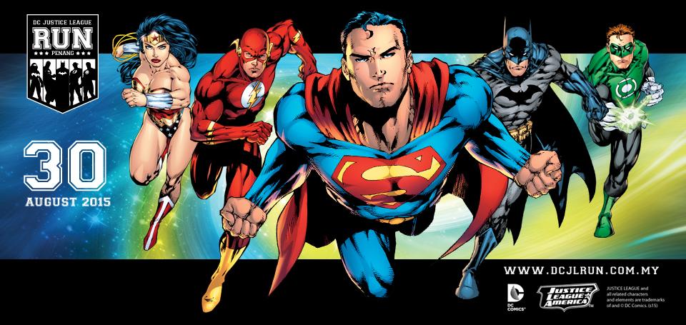 Justice League Run Penang