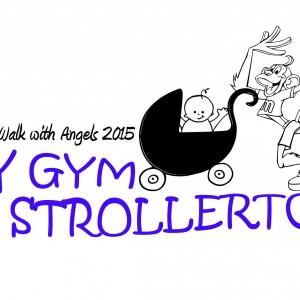 My Gym Strollerton-Walk with Angels 2015
