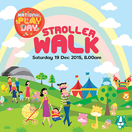 National Play Day Stroller Walk 2015