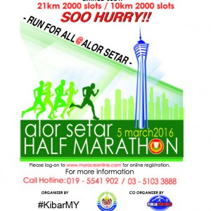 Alor Setar Half Marathon 2016