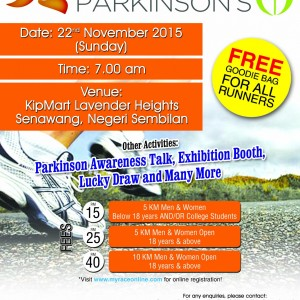 Run For Parkinson's 2015