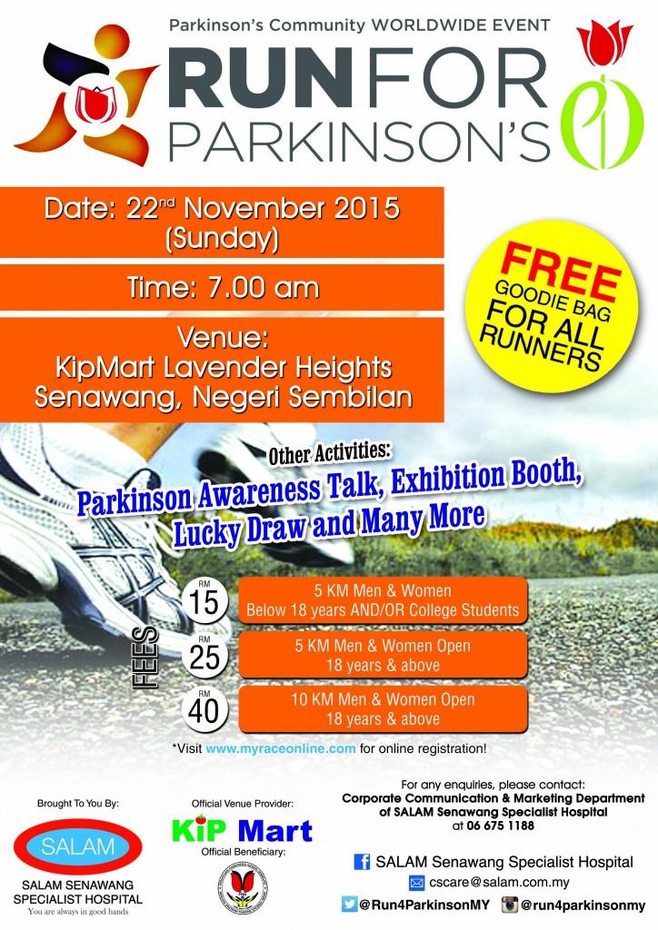 Run For Parkinson's 2015