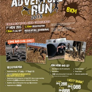 Seri Pajam Adventure Run 2015