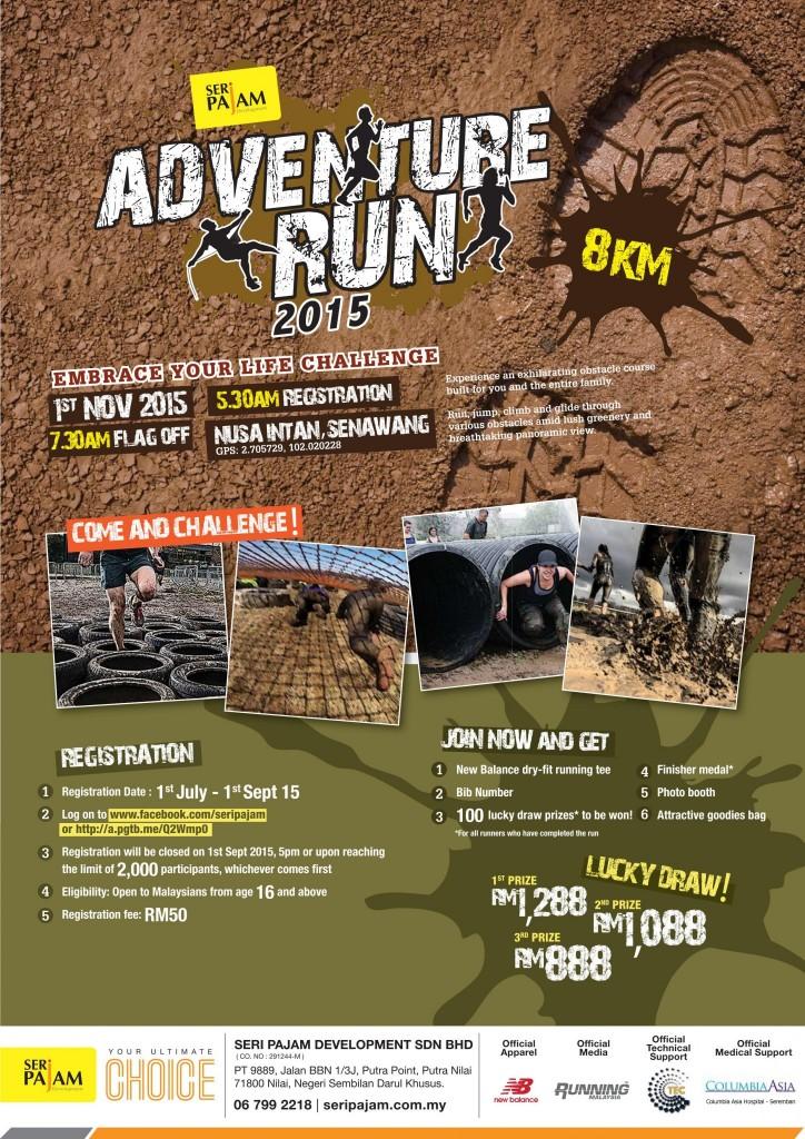Seri Pajam Adventure Run 2015