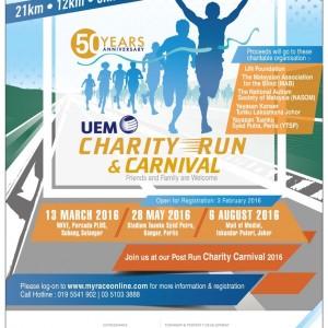 UEM Charity Run 2016 – Perlis
