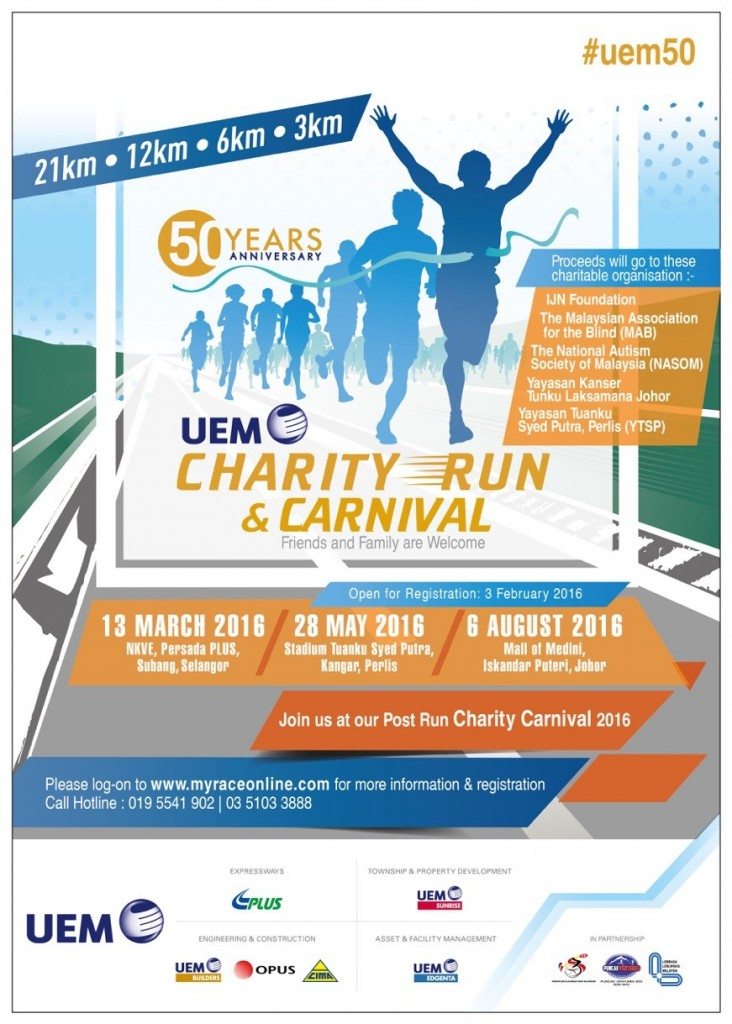 UEM Charity Run 2016 – Perlis