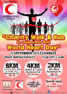 """""""Charity Walk & Run"""" for World Heart Day 2015"""